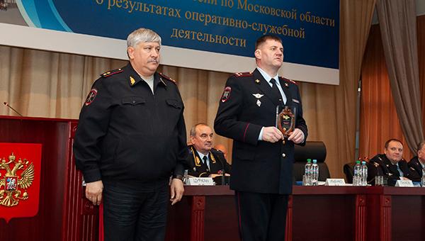 Две службы в МУ МВД России «Серпуховское» признаны лучшими в Московской области