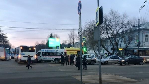 Водитель подмосковного автобуса умер прямо во время рейса