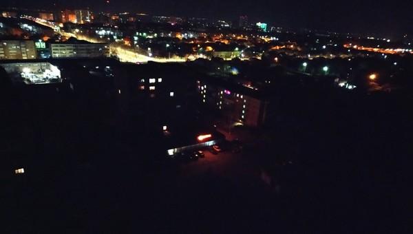 Серпуховичи провели ночь без света и воды