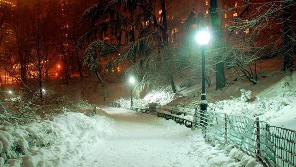 Мягкие температуры, большое количество снега