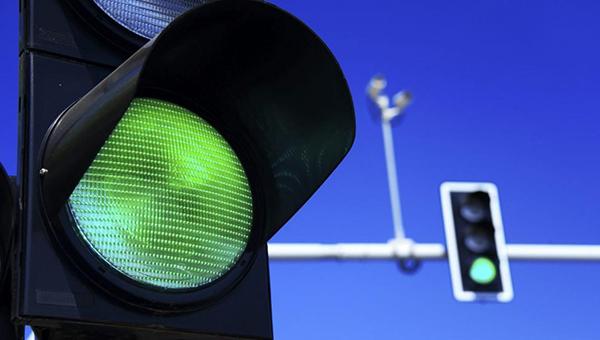 Долгожданный светофор в Серпухове заработал