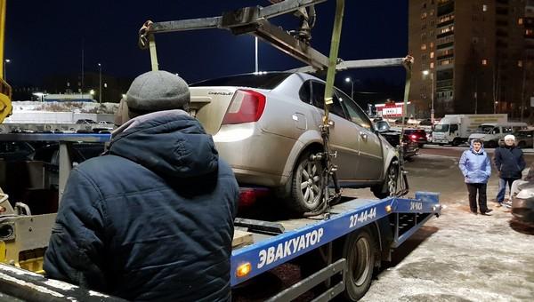 Эвакуированный автомобиль можно будет отследить