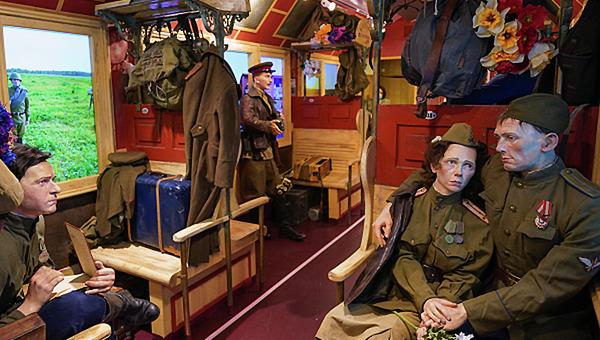 «Поезд Победы» отправился в путь по России