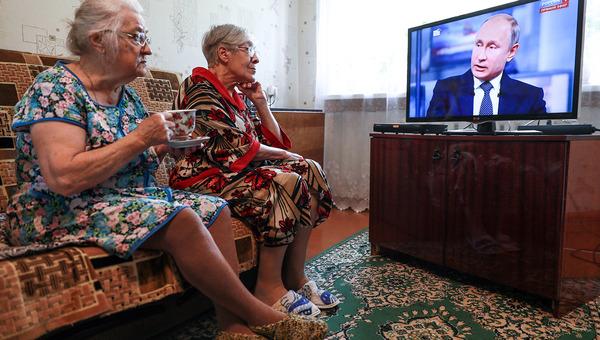 Путин на пресс-конференции рассказал об индексации работающим пенсионерам