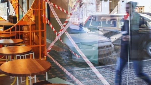 По всей России закрываются кафе, клубы и развлекательные заведения