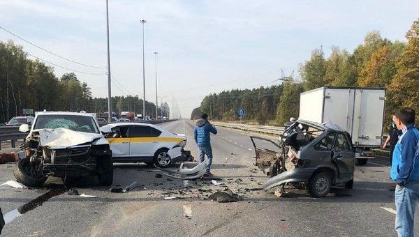 Серьезная авария случилась на Старосимферопольском шоссе