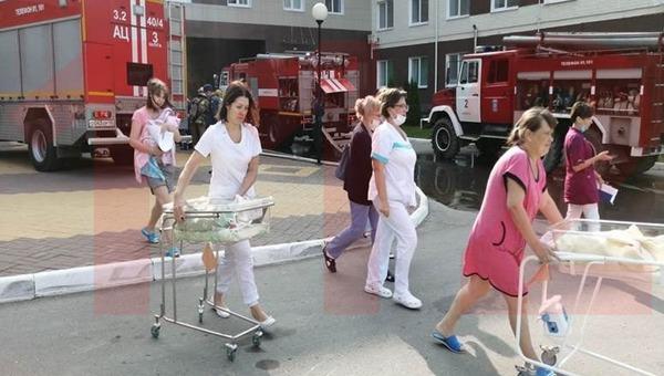 В Калуге в перинатальном центре случился пожар