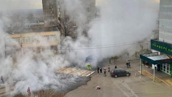 В Подмосковье четверо детей получили ожоги, переходя дорогу