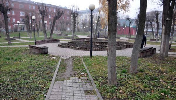 Сквер на «Красном» обойдется Серпухову в 8 с лишним миллионов