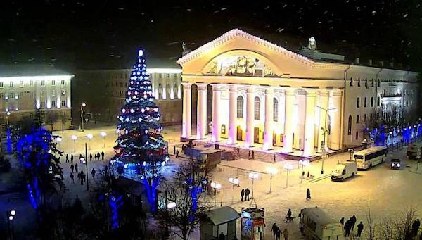 Калуга стала новогодней столицей России - 2021