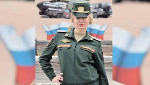 Лейтенант Заворотная из Серпухова добралась до финала конкурса армейских красоток