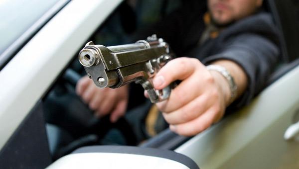 Под Серпуховом обстреляли фургон