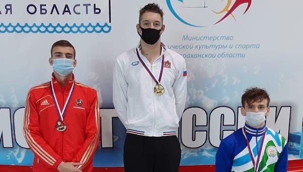 Пловец из Серпухова стал обладателем сразу 6 наград