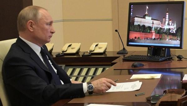 Сегодня Путин озвучит дальнейшие планы по борьбе с коронавирусом в России