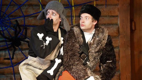 Мелиховский театр покажет зрителям «Страшные-страшные сказки»