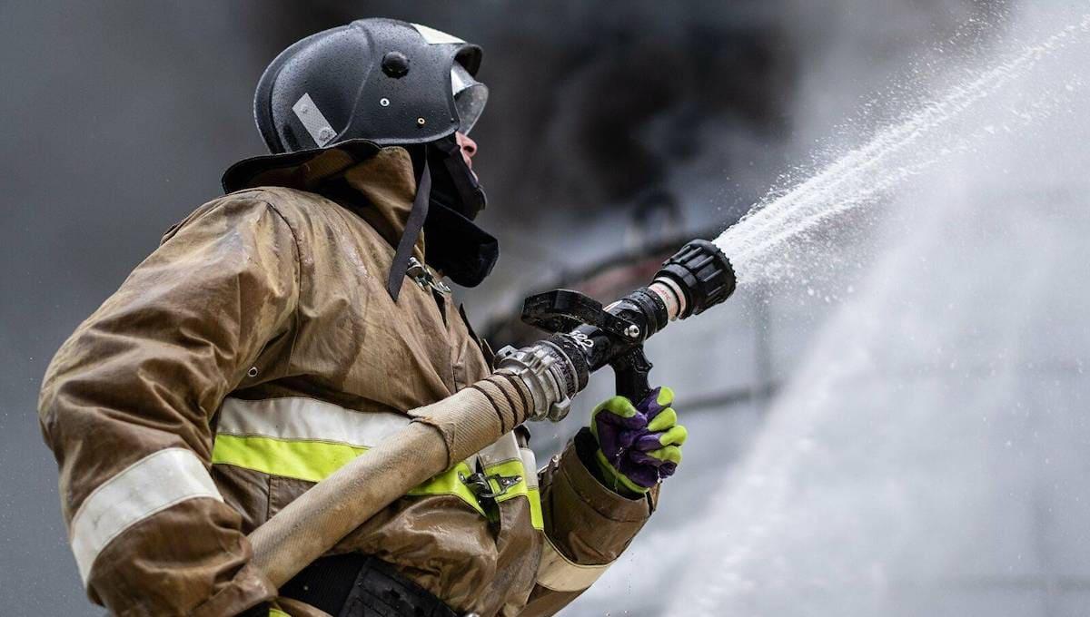 В Серпухове сгорела баня известного российского миллиардера