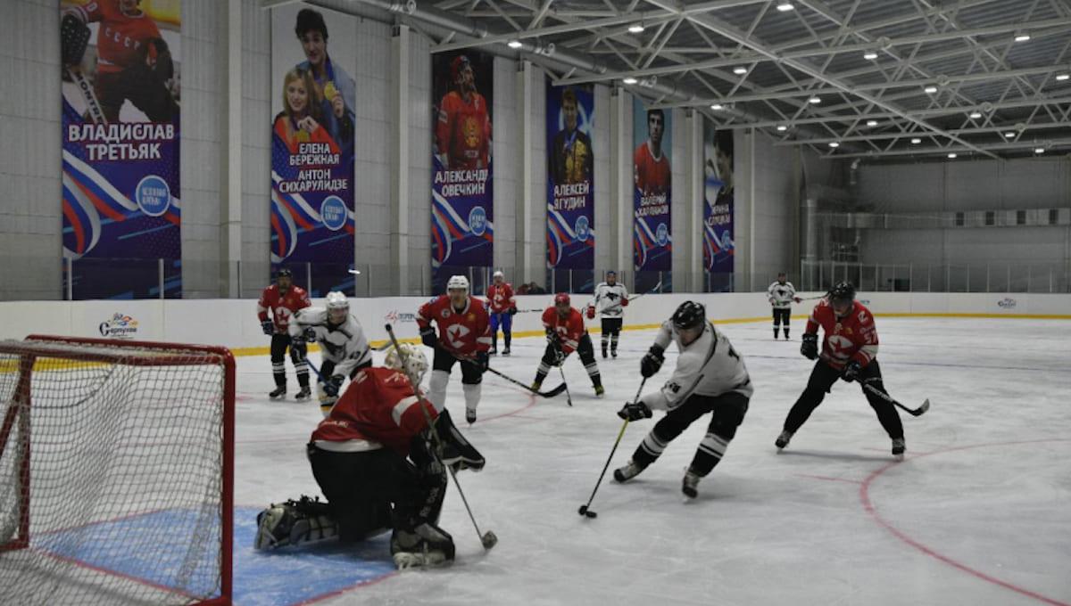 В Серпухове повторно открыли ледовую арену