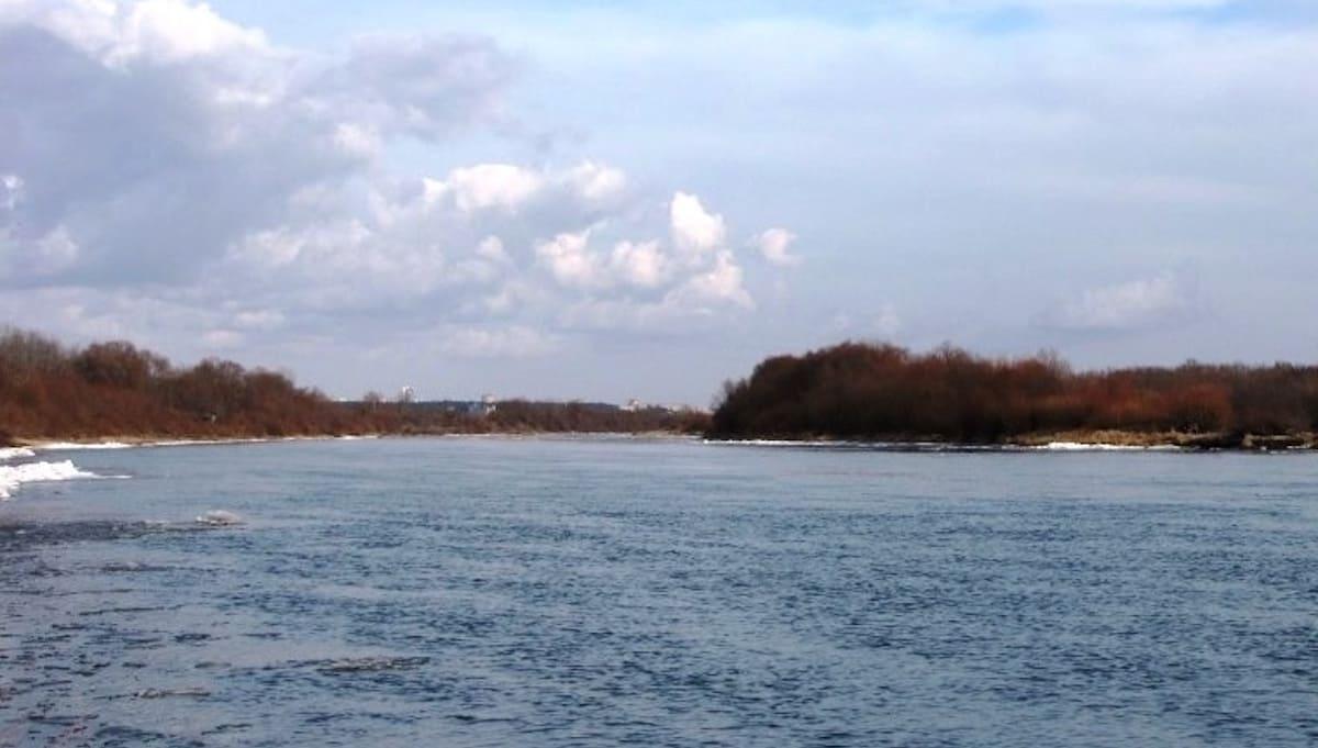 Вода в Оке за выходные резко поднялась