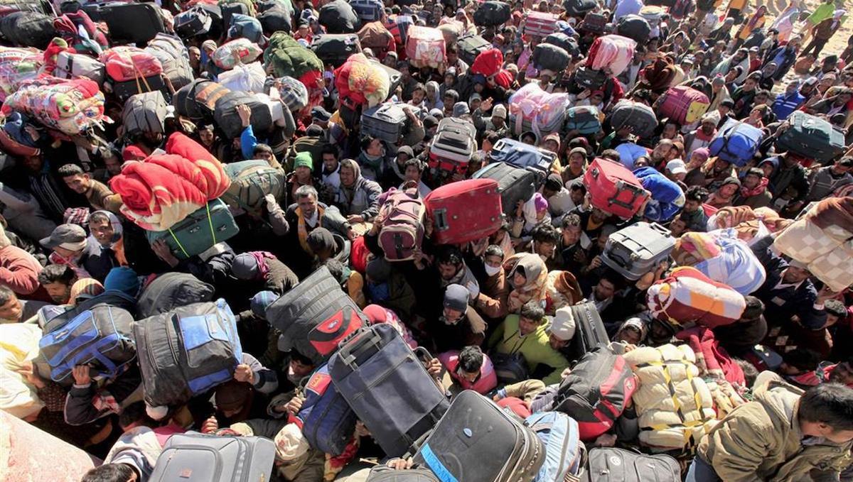 Население Подмосковья прирастает за счет мигрантов