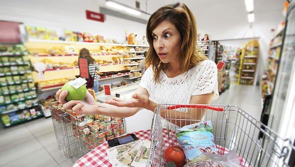 Продуктовая инфляция в России в 7,5 раз выше, чем в ЕС