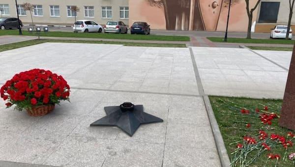 В центре Серпухова погас Вечный огонь