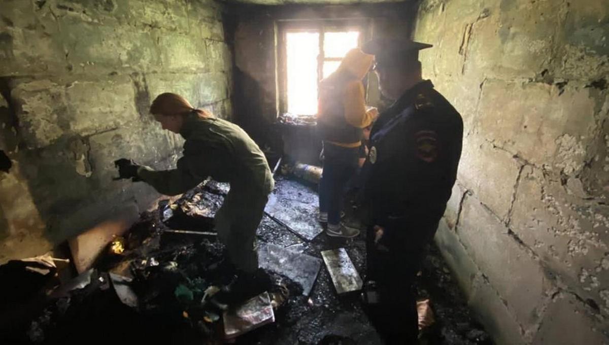 Дети погибли на пожаре в Подмосковье