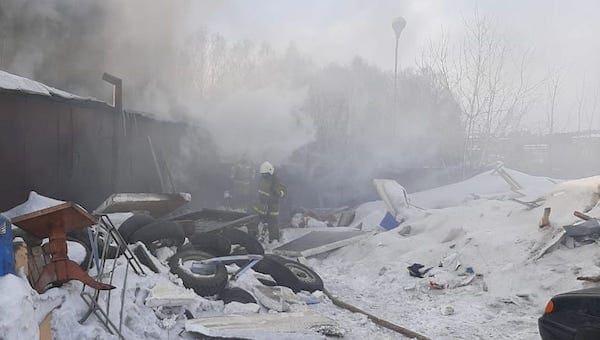 В пригороде Серпухова произошел взрыв в жилом доме