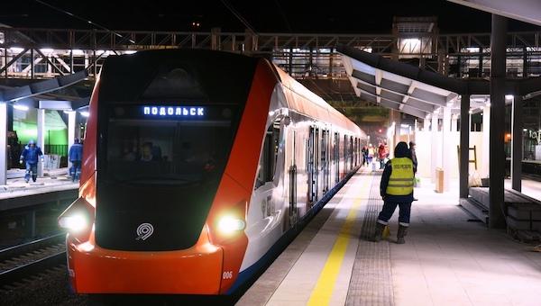 В конце сентября на МЦД-2 изменится расписание поездов