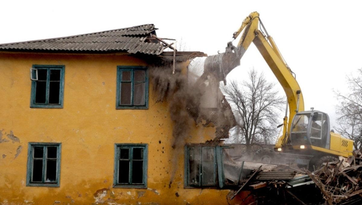 Какие дома сносят в городах Финляндии?