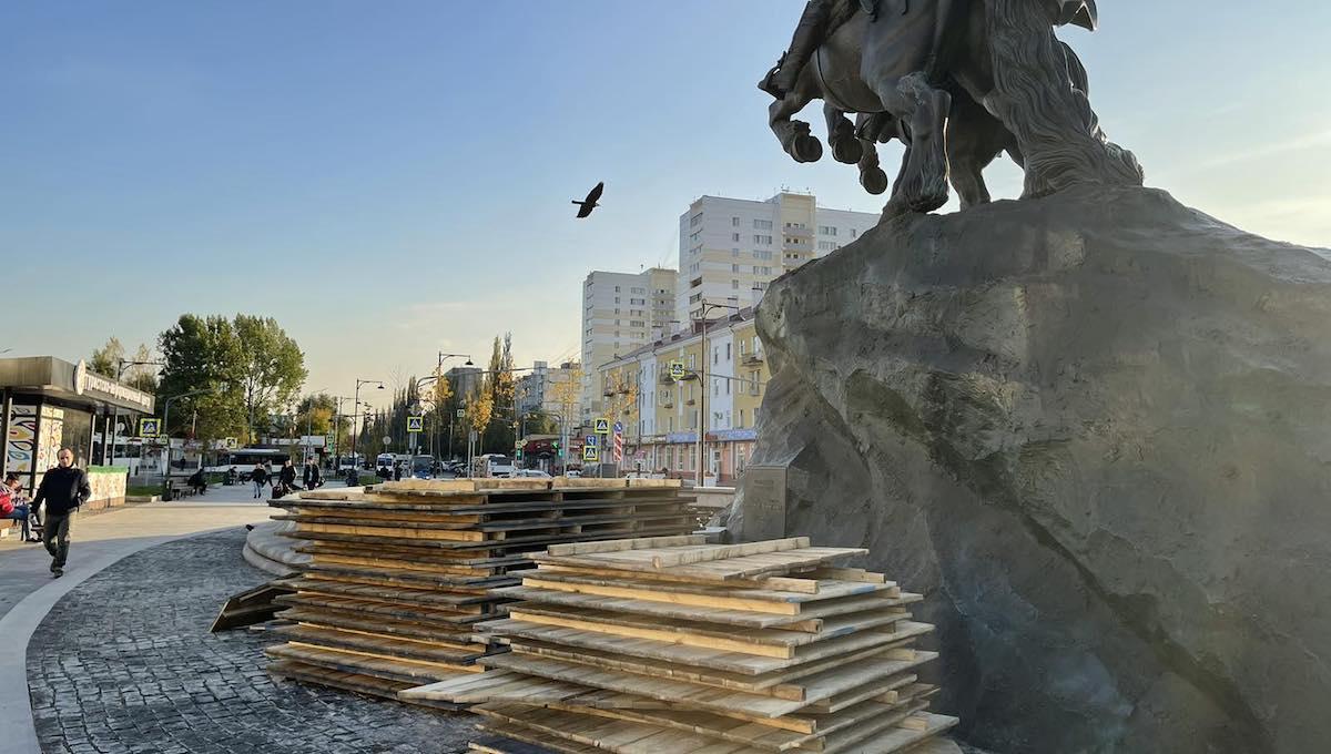 В Серпухове начали «сворачивать» фонтаны