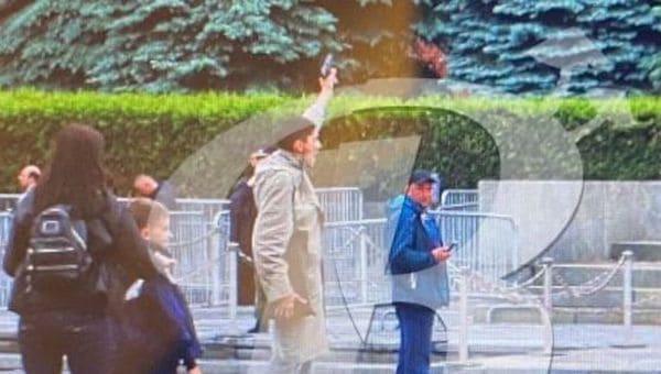Павел Крисевич выстрелил себе в голову на Красной площади