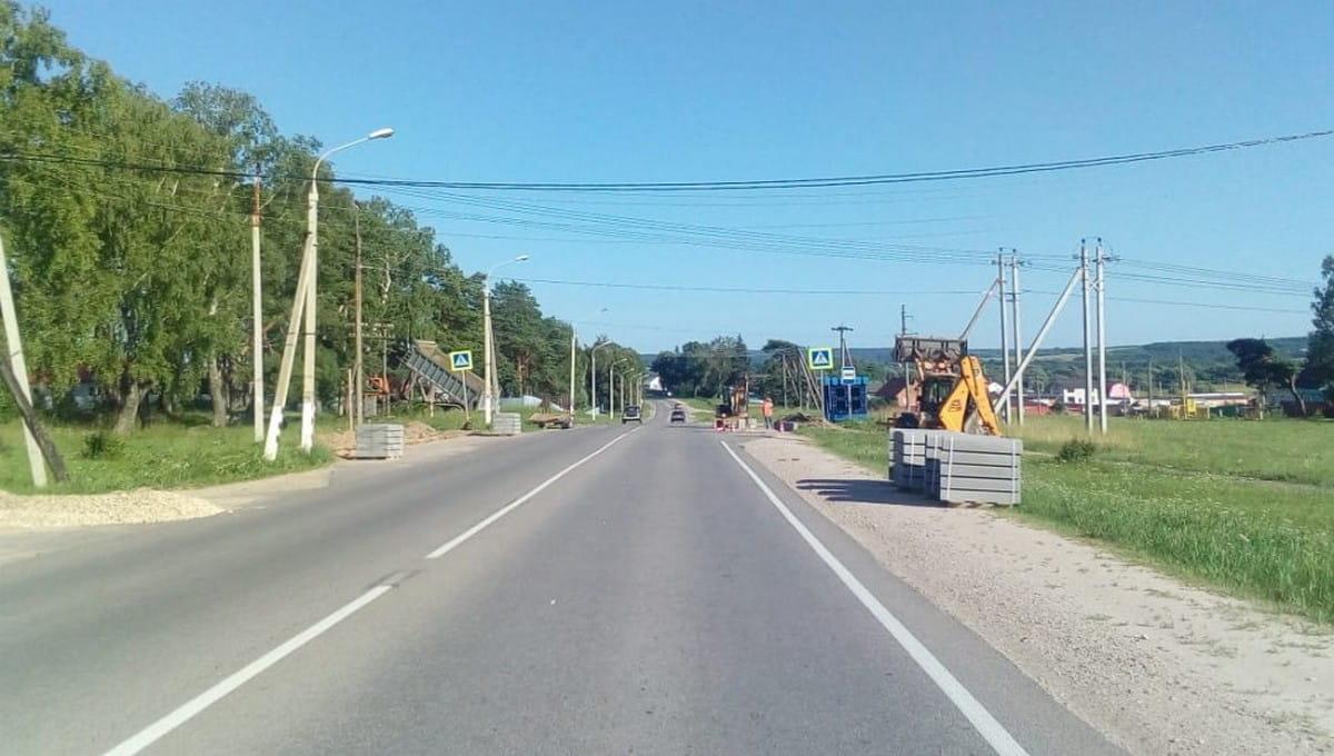 Начался ремонт на трассе Серпухов — Обнинск