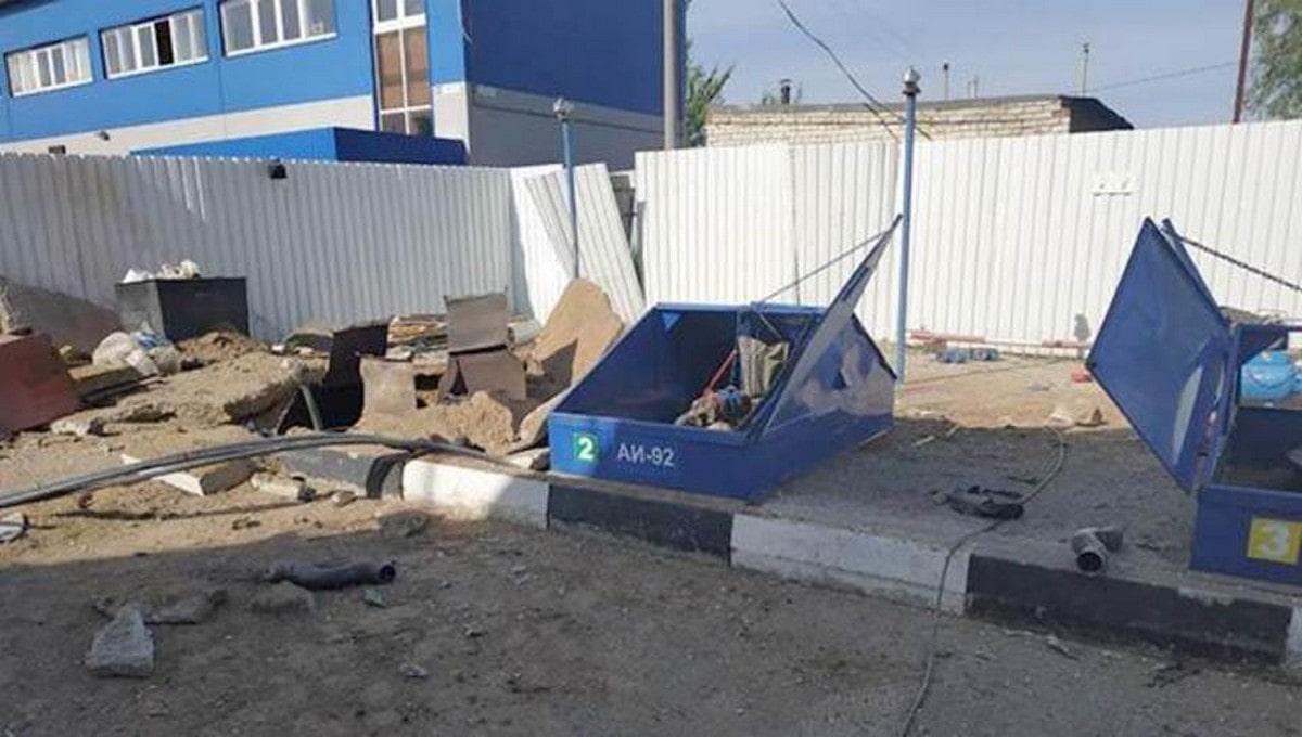 Закончилось следствие по делу о гибели троих при взрыве на АЗС в Серпухове