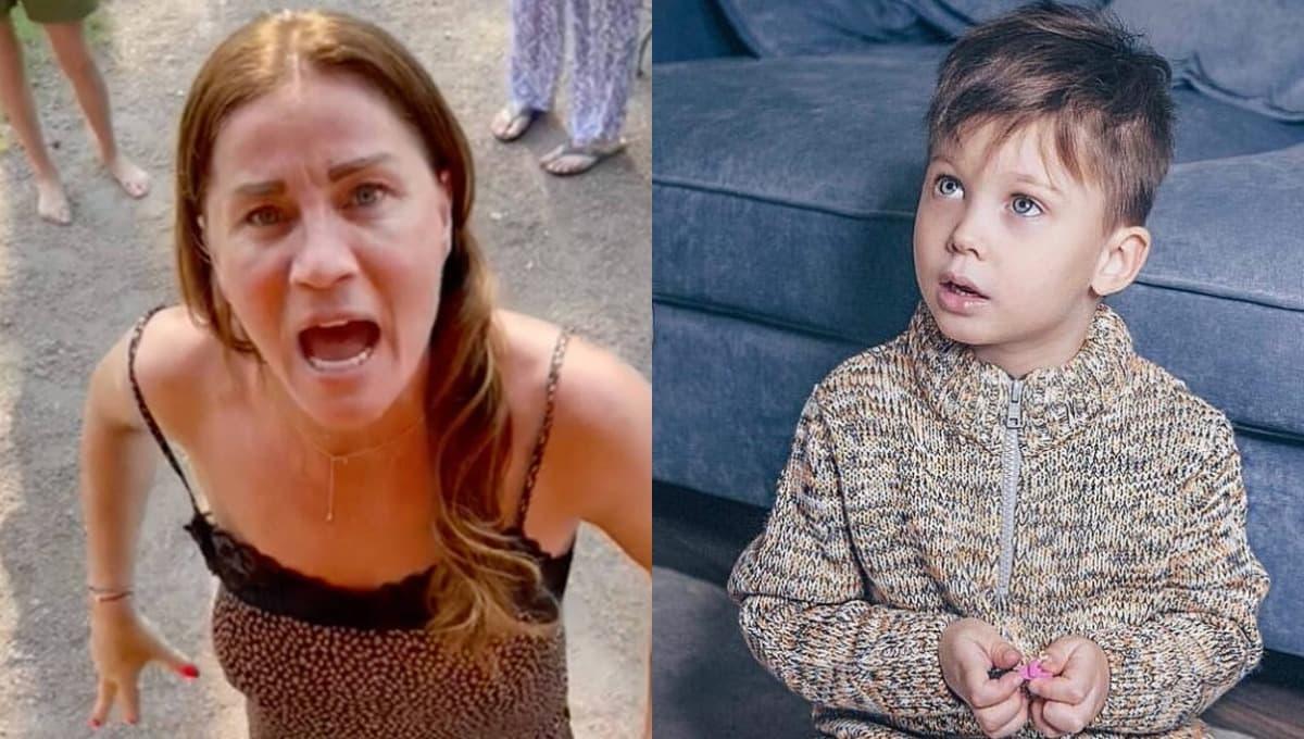 Жена футбольного судьи хочет сделать уголовником 7-летнего мальчика