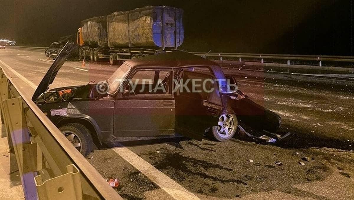 Три человека пострадали в ДТП между Серпуховом и Тулой