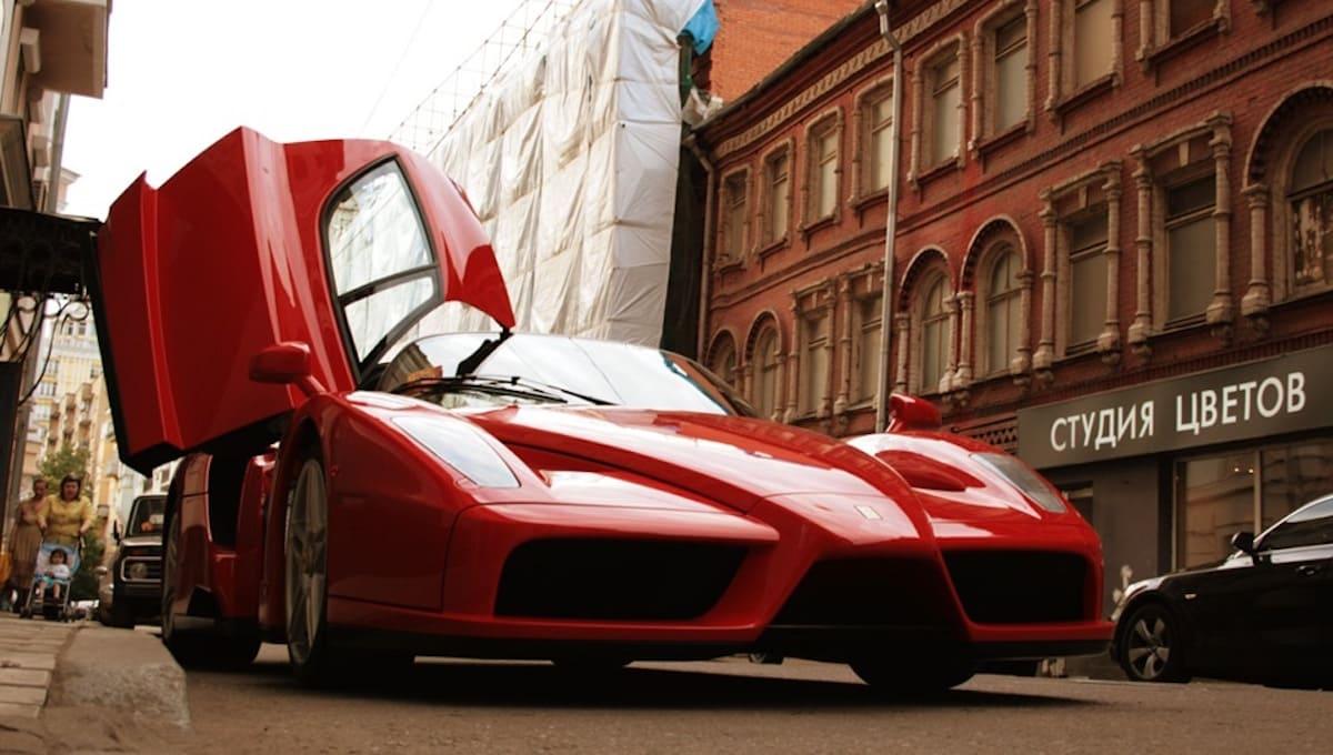 За месяц в России не продали ни одной Ferrari