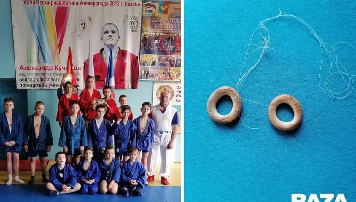 В Подмосковье детям на соревнованиях выдали сушки вместо медалей