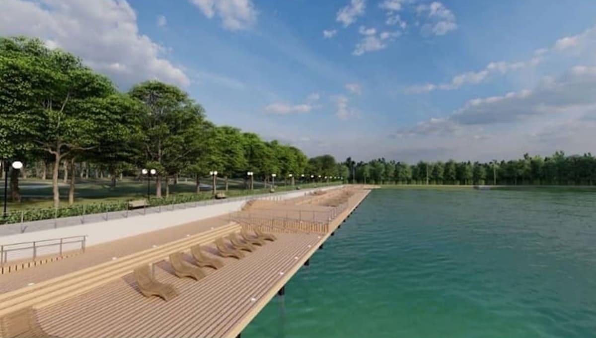 Стала известна концепция обустройства Ногинского пруда в Серпухове