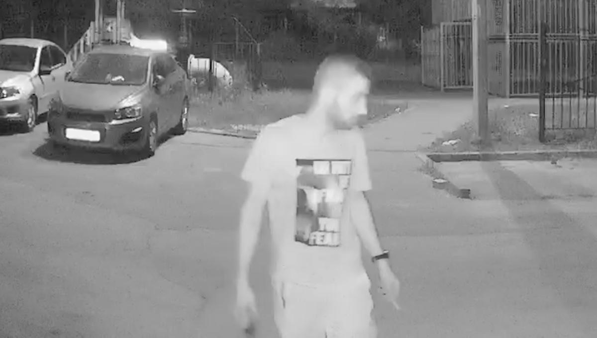 В Серпухове задержали мужчину, разбившего молотком видеокамеру