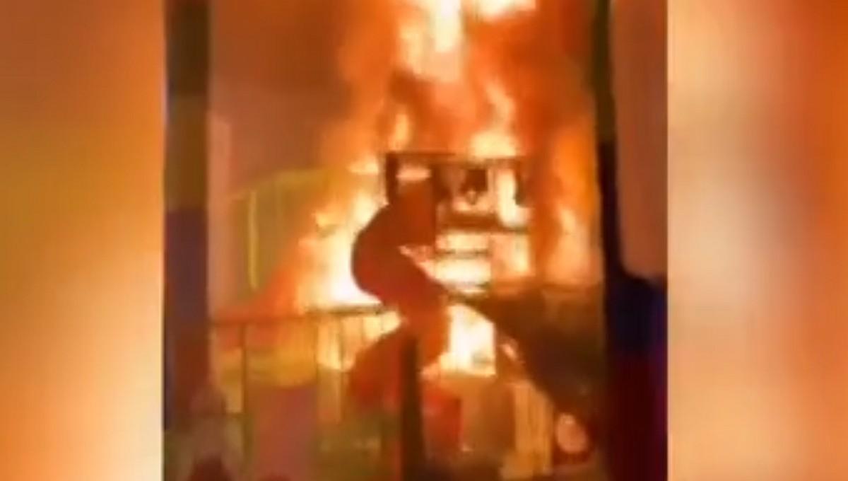 В подмосковном ТРЦ вспыхнула игровая комната с детьми