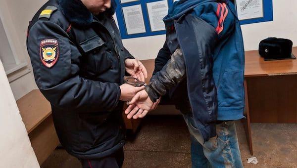 Под Серпуховом полиция случайно перехватила наркокурьера