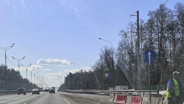 Назван срок ремонта выезда из Серпухова в сторону Тулы