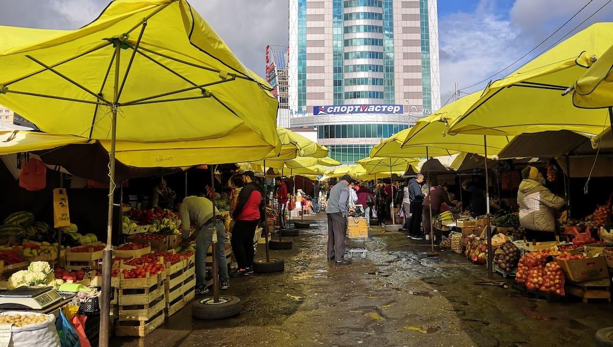 Как за два года изменилась цена продуктов на рынке в Подмосковье