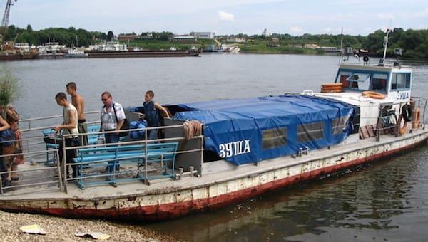 Утром в Серпухове откроется пассажирская навигация по Оке