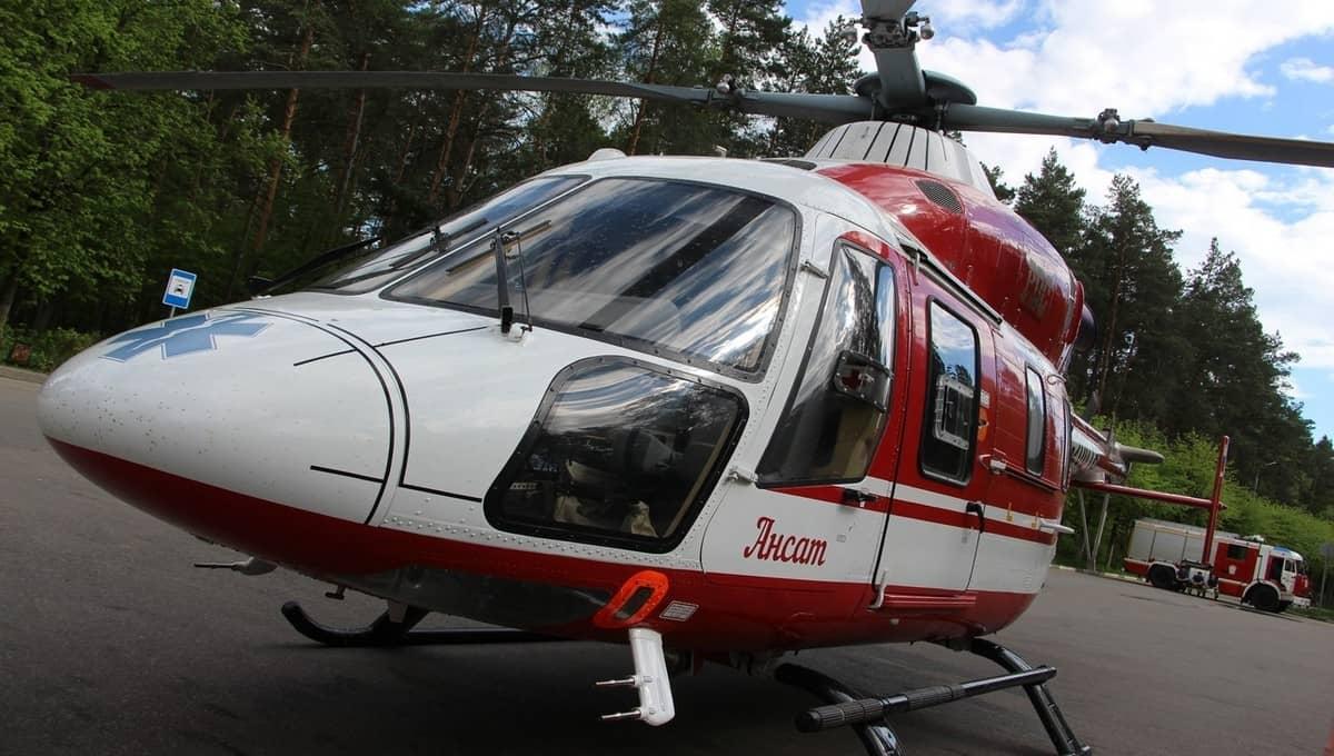Опасно заболевшего малыша забрали из Протвино на вертолете