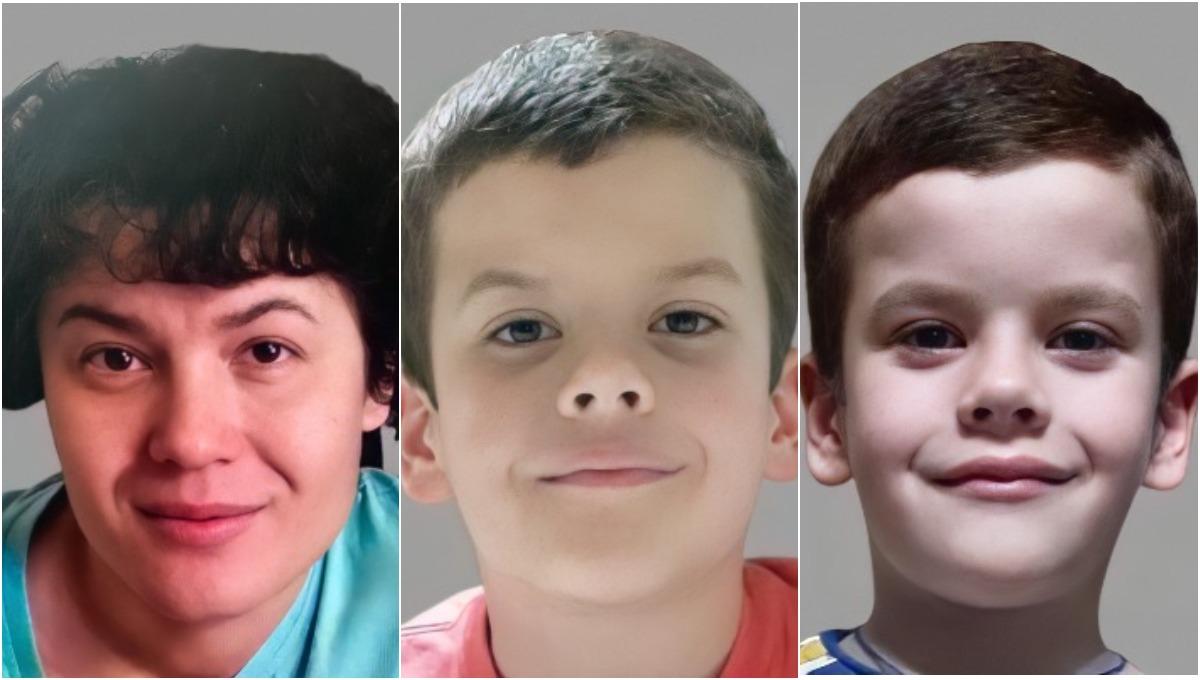 В Подмосковье пропали женщина и двое маленьких детей