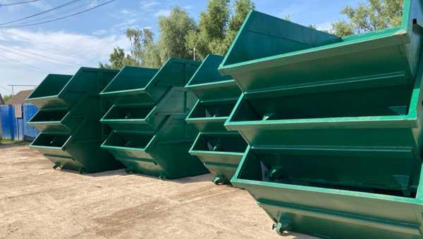 ООО «МСК-НТ» получило новые емкости для сбора и вывоза отходов