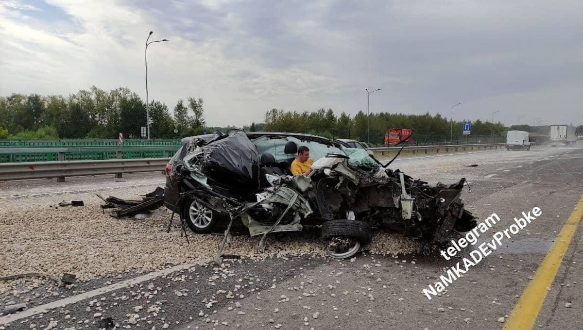 Страшная авария и чудесное спасение на трассе М4