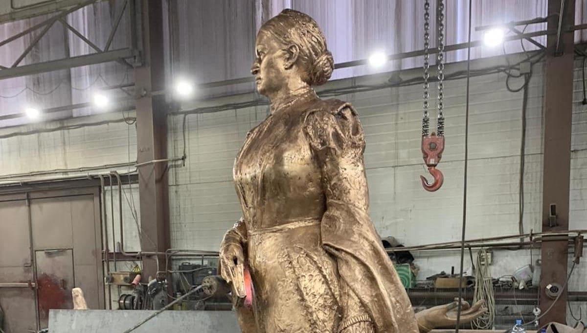 Названа дата открытия памятника самой известной женщине Серпухова