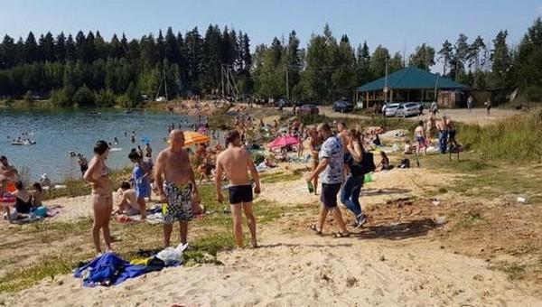 В карьере под Чеховом утонули два человека